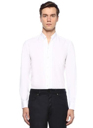 Luciano Barbera Gömlek Beyaz